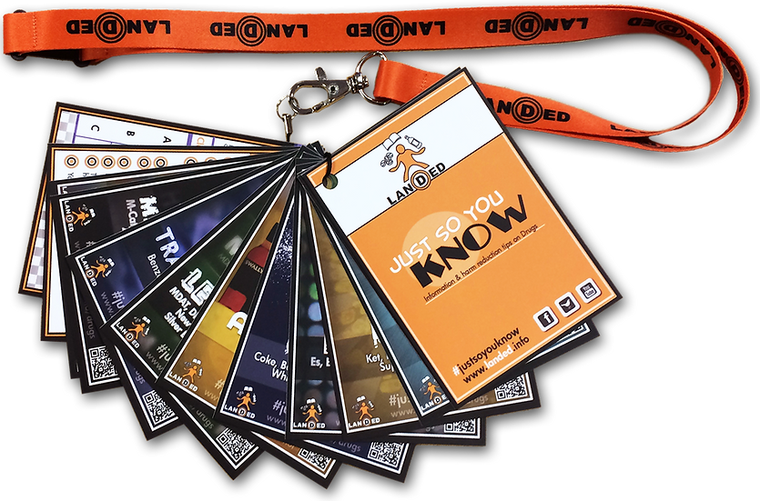 Just So You Know - Drug Information Lanyard