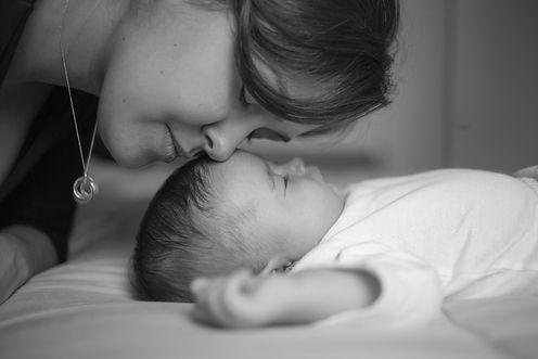 Ensaio Newborn, Mãe e Filha
