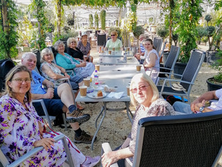 Choir Catch-up at the Wisteria Café