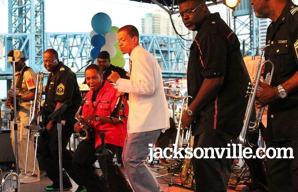 Live at the Jacksonville Landing