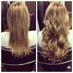 Hairextensionsbyjess photo gallery before and after fusion hair extensions pmusecretfo Choice Image
