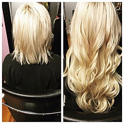 Hairextensionsbyjess photo gallery before and after 22 fusion hair extensions pmusecretfo Choice Image