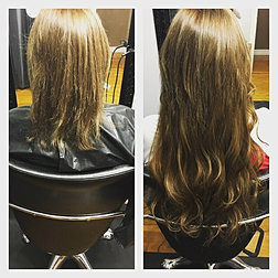Hairextensionsbyjess photo gallery before and after 22 fusion hair extensions hairextensions fusion fusionhairextensions hairexten pmusecretfo Choice Image