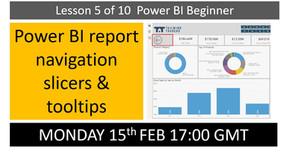 Power BI beginners Lesson 5 of 10