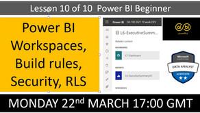 Power BI Beginners Lesson 10/10
