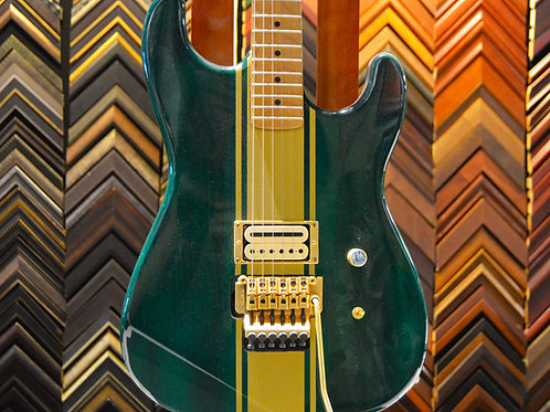 Emerald Green S Style Guitar