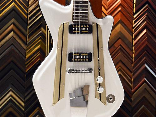 White Fiber Glass Guitar