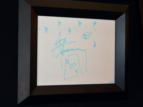 Ace Frehley Original Canvas Art