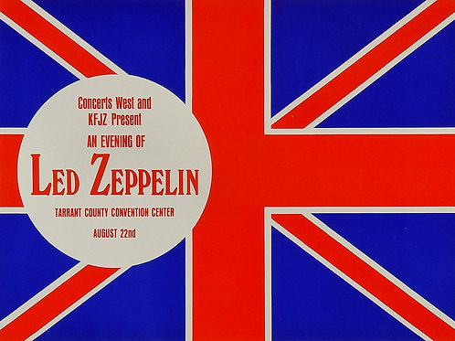 Led Zeppelin '70 Handbill