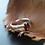 Monsteraleaf ガーネット オーバル ファセット カット プロング リング 7x5mm 天然石 ファッション ジュエリー