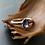 Monsteraleaf アイオライト オーバル ファセット カット プロング リング  7x5mm 天然石 ファッション ジュエリー