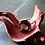 Thumbnail: スモーキークォーツ ラウンド ファセット カット リング 大粒 14mm