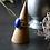 Monsteraleaf ラピスラズリ オーバル カボション シルバー リング 14X10mm 青 大粒 天然石ジュエリー