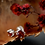 Monsteraleaf アルマンディン ガーネット スタッド ピアス 6mm 天然石ジュエリー ラウンド ファセットカット 立て爪 シルバー