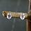 Monsteraleaf ローズクォーツ ピアス オーバル 8x6mm 天然石ジュエリー ファセットカット 立て爪 シルバー