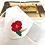Monsteraleaf 花刺繍 布マスク 麻素材 ダブルガーゼ フィルターポケット付き 立体マスク 女性用 洗える 着物に合う 夏向け ハンドメイド