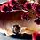 Monsteraleaf スモーキークォーツ ラウンド ファセット カット 14mm ボリューム リング ファッション ジュエリー 天然石