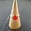 Monsteraleaf カーネリアン スタッキング  ファッション リング 10mm 14KGF オレンジ色 重ねづけ 天然石ジュエリー