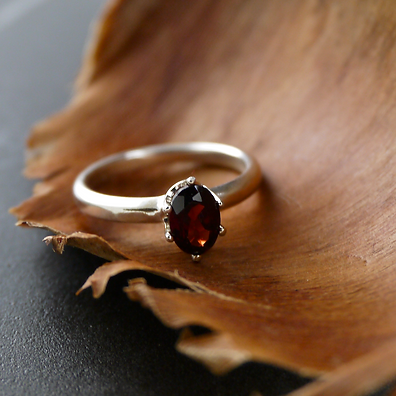 Garnet-Oval-Faceted-Cut-Prong-Ring-Ladie
