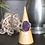 Monsteraleaf ブラッドショット アイオライト オーバル カボション シルバー リング 18X13mm 大粒 天然石ジュエリー