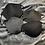 Monsteraleaf レザー調 トリム ヘリンボーン ツイード 秋冬マスク ダブルガーゼ 立体マスク 洗える ハンドメイド