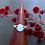 Monsteraleaf アクアマリン オーバル カボション プロング リング 10x8mm 天然石ジュエリー