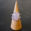 Monsteraleaf ローズクォーツ オーバル カボション シルバー リング 18x13mm 大粒 ピンク 天然石ジュエリー