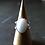 Monsteraleaf ホワイト ジェード オーバル カボション シルバー リング 18x13mm 天然石ジュエリー