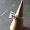 Monsteraleaf クリスタル クォーツ ラウンド ファセット カット 14mm ボリューム リング ファッション ジュエリー 天然石