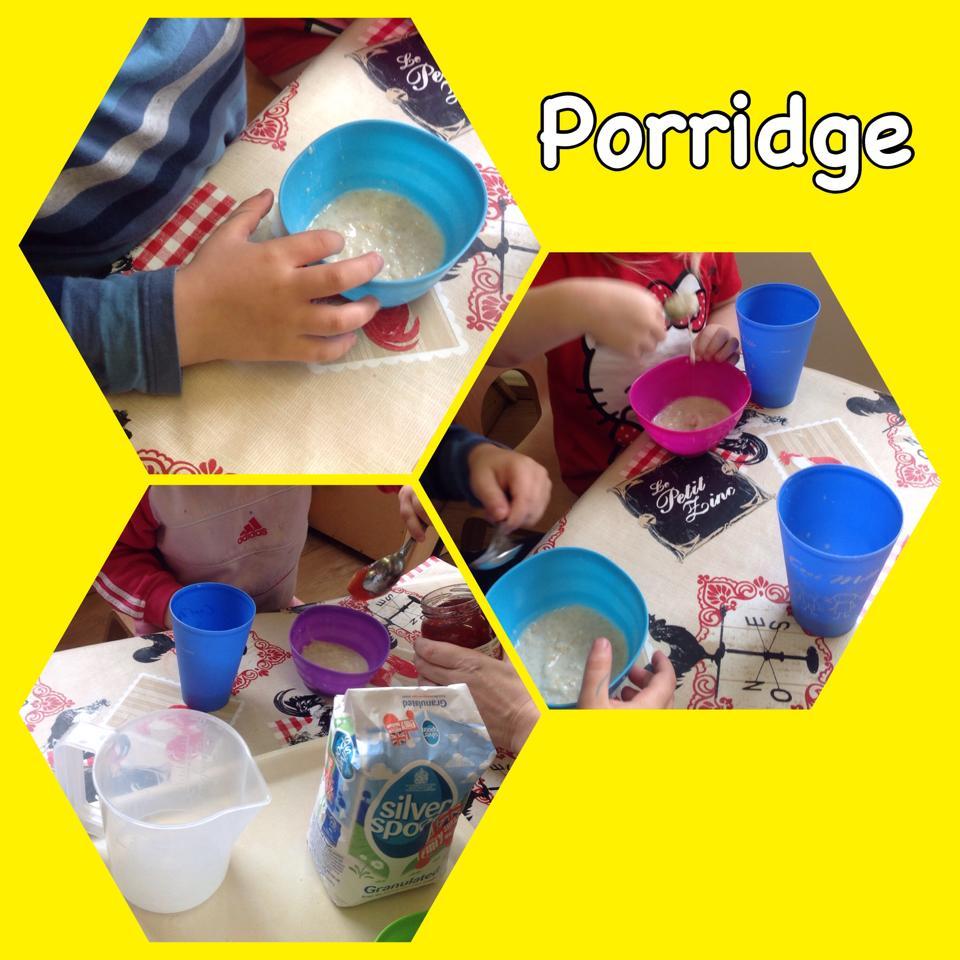 Who ate my porridge?