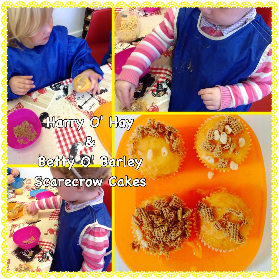 Making scarecrow foods