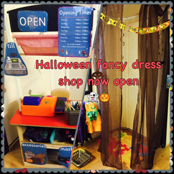 Our spooky halloween shop