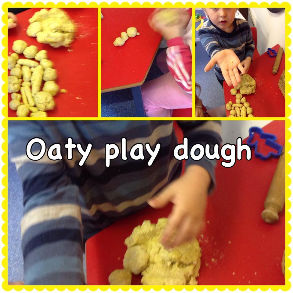 Lets make play dough