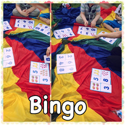 Eyes down for bingo