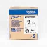 Brother 1P6091 HGe-621V5 Label Ribbon