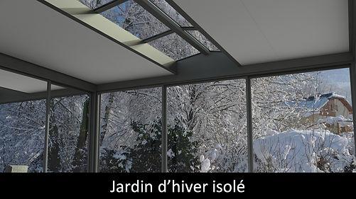 veranda entree de gamme jardin d'hiver isole sur mesure toiture plate suna-protekto
