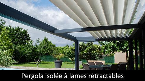ESAPCE LOUNGE SKY LOUNGE pergola etanche et isolee toiture retractable utilisation toute l'annee horeca et particulier suna protekto
