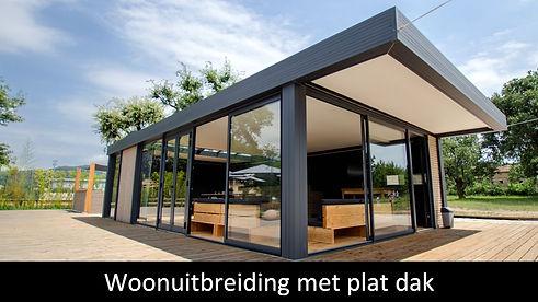 hoofding woonuitbreiding met plat dak.jp