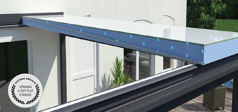panneaux toiture Zenith drain sécurité intégré breveté