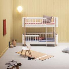 Oliver Furniture Wood Mini+ Etagenbett weiß/Eiche