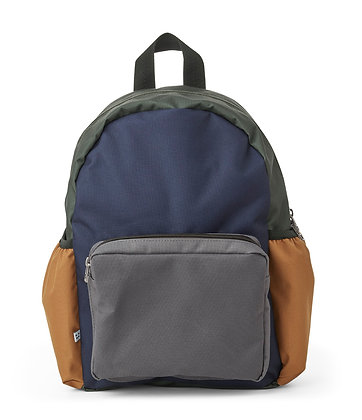 Liewood Wally school back pack Navy mix