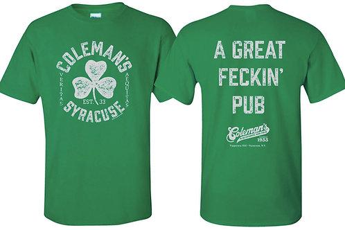 "Coleman's ""A Great Feckin' Pub"""