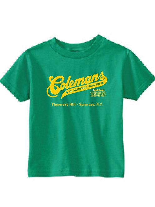 Coleman's Kids t-shirt