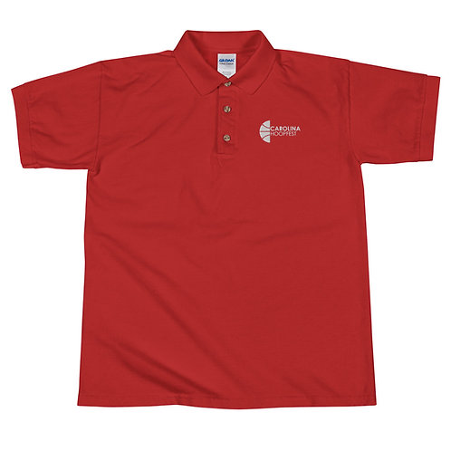 Hoopfest Embroidered Polo Shirt