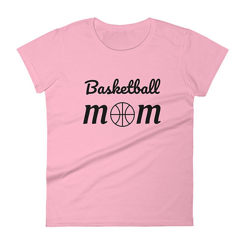 Basketball Mom short sleeve t-shirt