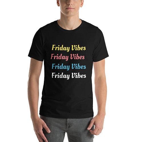 Vibes Short-Sleeve Unisex T-Shirt