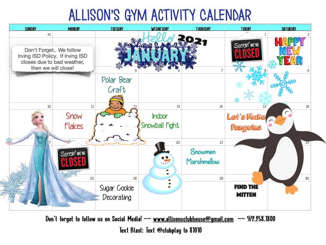 January Gym