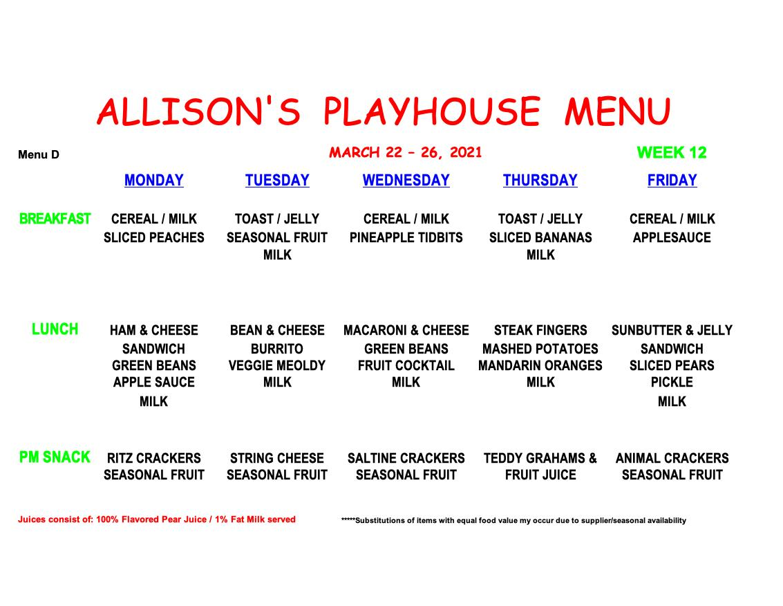 MENU-WEEK 13Dplay