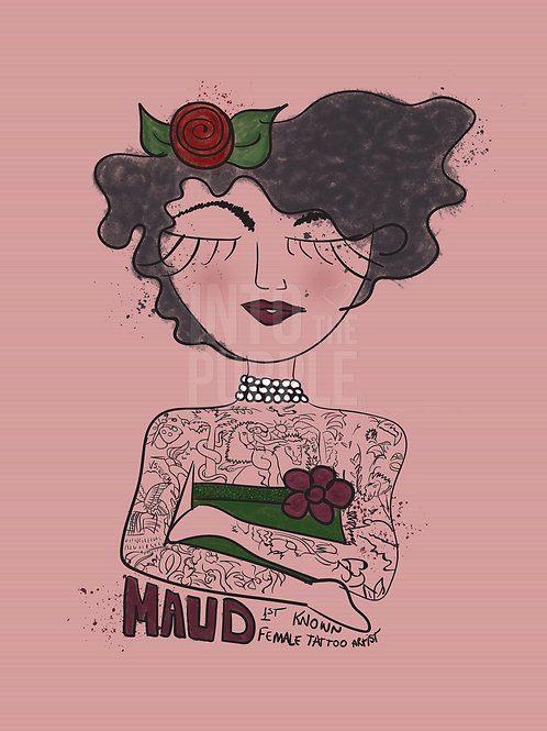 Maud Stevens Wagner - Wall Art Print