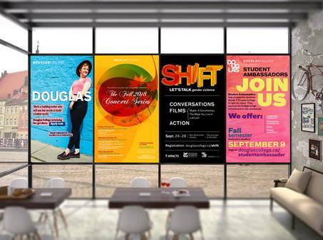 Posters Douglas College